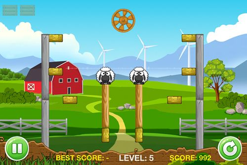 A tiny sheep virtual farm pet: Puzzle