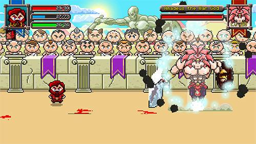 RPG Gladiator rising: Roguelike RPG für das Smartphone