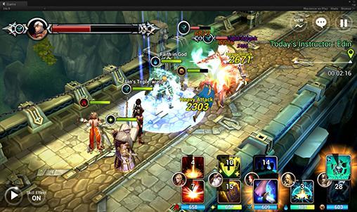 Strategische RPG-Spiele Eldrian legacy für das Smartphone