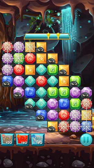 Elemental jewels: Match 3 screenshot 1