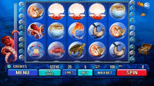 Glücksspiel Under the sea: Slot machine für das Smartphone