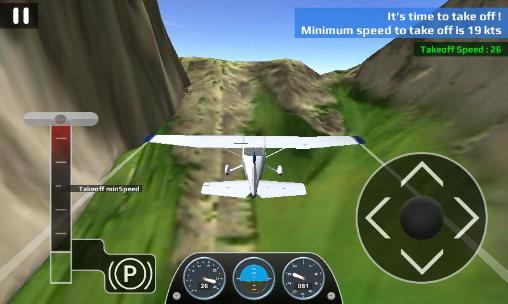 Airplane flight simulator RC auf Deutsch