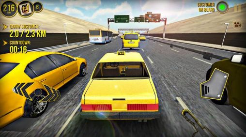 Taxi car simulator 3D 2014 for Android