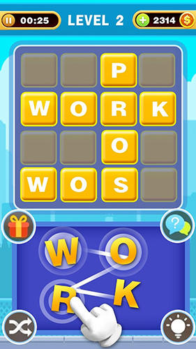 Words game: Cross filling für Android