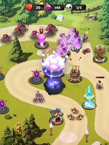 MOBA-Spiele Castle creeps TD auf Deutsch