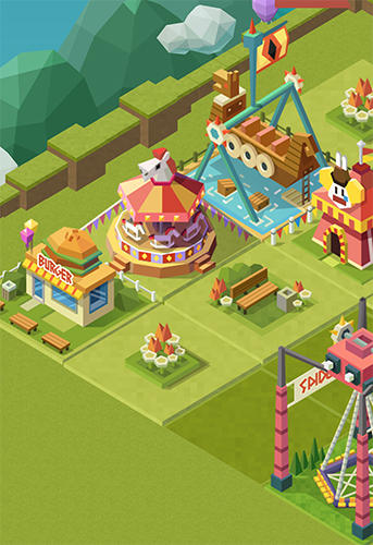 2048 tycoon: Theme park mania для Android
