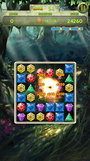 Jungle story: Match 3 game für Android