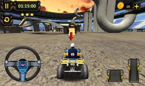 ATV racing: 3D arena stunts for Android
