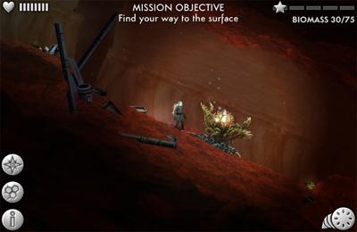 Screenshot Mars-Erkundung auf dem iPhone
