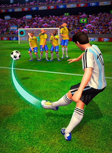 Shoot 2 goal: World multiplayer soccer cup 2018 für Android
