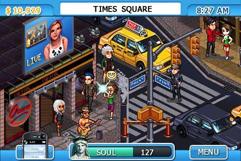 截图New York nights: Success in the city在iPhone