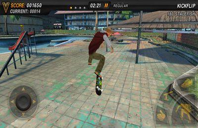 Screenshot Mike V: die Skateboard Party auf dem iPhone