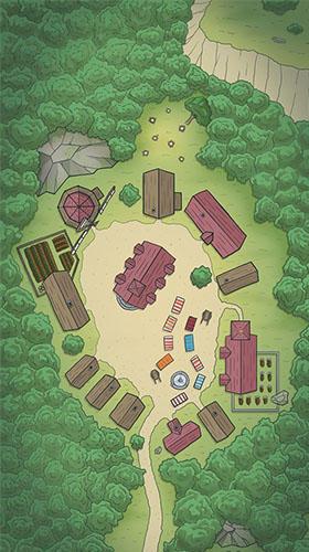 Brettspiel-RPGs Yora adventures auf Deutsch