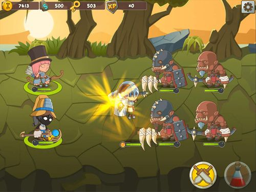 Arcade: download My tiny heroes to your phone
