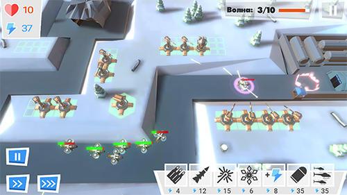 Kriegsabwehr: Epische Zone der letzten Legende Screenshot