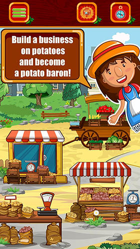 Farm Potato baron: Tap tap idle tycoon auf Deutsch