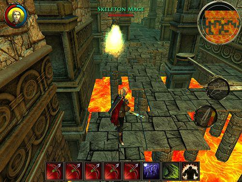 RPG-Spiele: Lade Aralon: Schmiede und Flamme auf dein Handy herunter