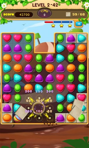 Candy journey auf Deutsch