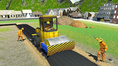 Traktor Construct railway: Train games auf Deutsch