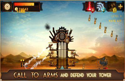 Strategiespiele: Lade Steampunk Turm auf dein Handy herunter