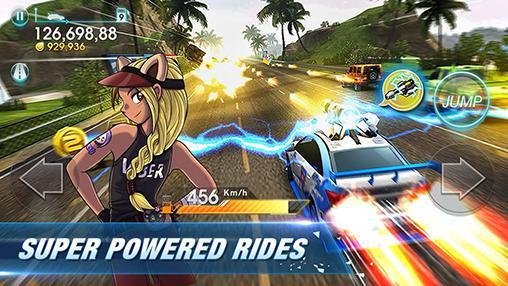 Racing games Viber: Infinite racer for smartphone