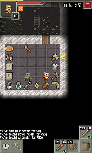 Yet another pixel dungeon for Android