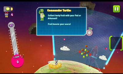 Arcade-Spiele Space Ark THD für das Smartphone
