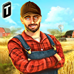 Town farmer sim: Manage big farms іконка