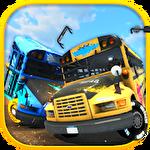 School bus: Demolition derby Symbol