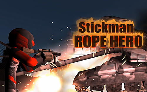 Stickman rope hero captura de pantalla 1