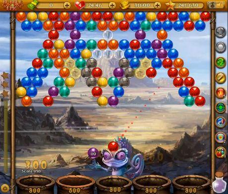 Arcade-Spiele Bubble epic: Best bubble game für das Smartphone