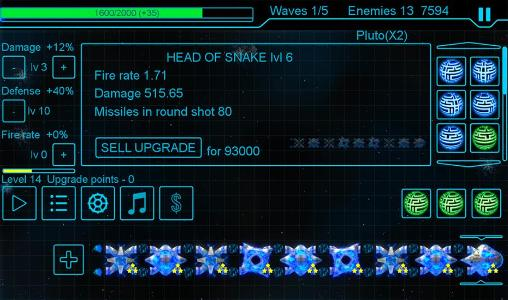 Snake defender Screenshot