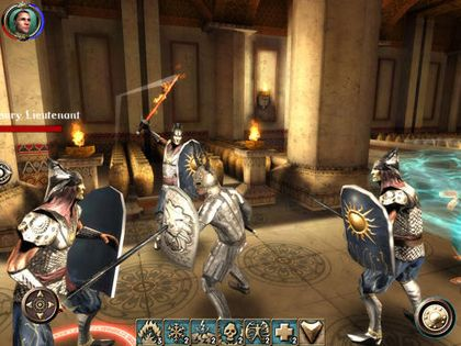 Action games The Shadow Sun in English