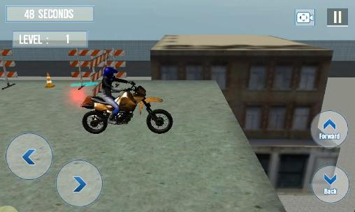 Bike racing: Stunts 3D screenshot 1