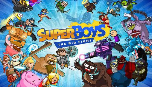 Super boys: The big fight captura de pantalla 1