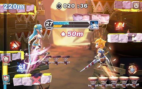 Jump arena: PvP online battle für Android