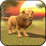 Иконка Wild lion simulator 3D