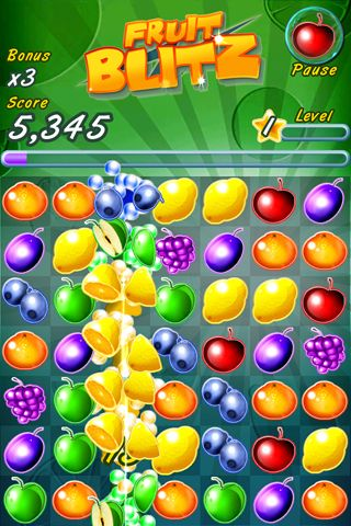 Fruits blitz pour iPhone gratuitement