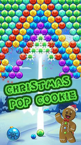 Christmas pop cookie ícone