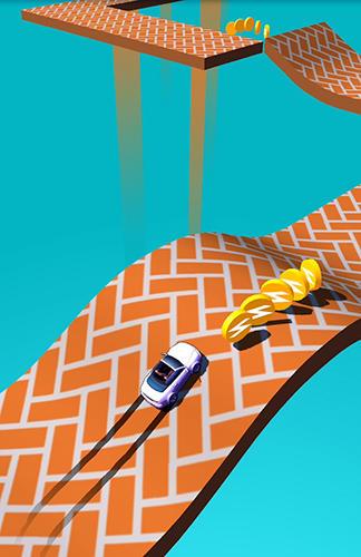 Arcade Skiddy car für das Smartphone