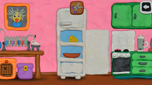 Adventure 12 locks: Plasticine room for smartphone