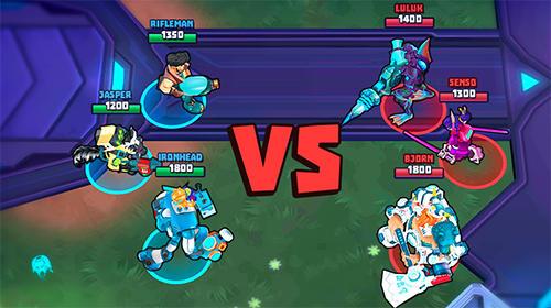 RPG-Spiele Space Brawls: 3v3 battle arena für das Smartphone