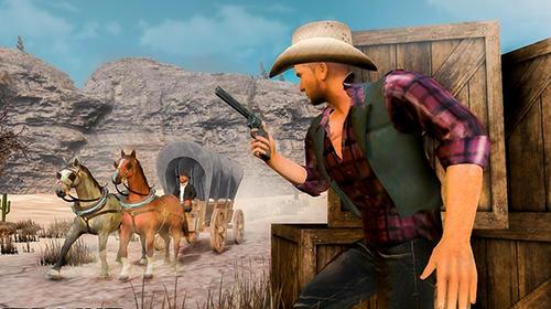 Wild West gunslinger cowboy rider for Android