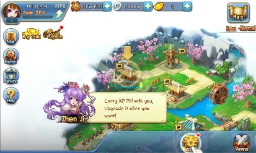 Onlinespiele Tiny empire für das Smartphone