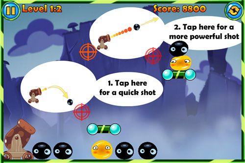 Arcade-Spiele: Lade Jelly Cannon: Reloaded auf dein Handy herunter