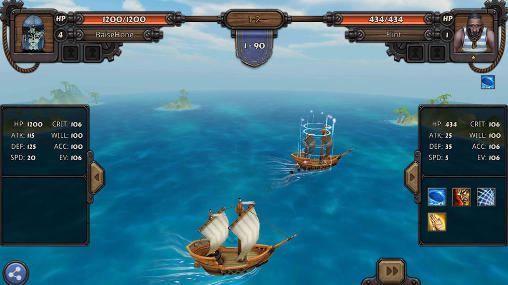 Online games Rage of the seven seas for smartphone