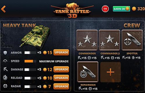 Action Tank battle 3D: WW2 warfare für das Smartphone