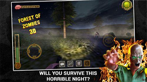 Actionspiele: Lade Wald der Zombies 3D: Deluxe auf dein Handy herunter