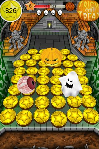 Coin Dozer Halloween captura de pantalla 3