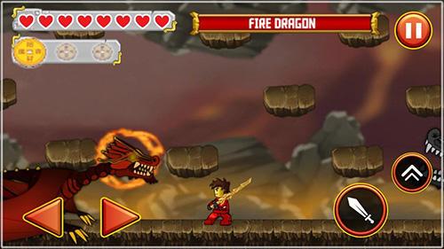 Ninja Ninja toy warrior: Legendary ninja fight auf Deutsch
